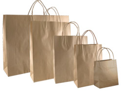 KRAFT BAGS - Brown
