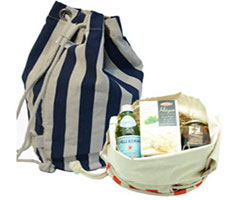 COTTON DUFFLE HAMPER BAG