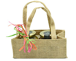 JUTE CONDIMENT BAG