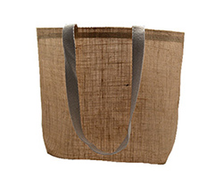 JUTE SHOULDER BAG
