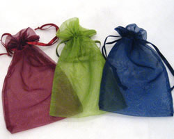 LARGE ORGANZA BAGS
