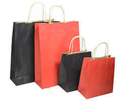 KRAFT BAGS - Colours