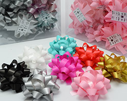 10mm SATIN TEAR BOW(6.5cm)