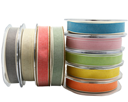 15mm PASTAL SHADES RIBBON