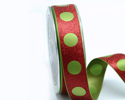 25mm XMAS PARTY RIBBON