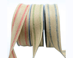 38mm DOUBLE STITCH JUTE