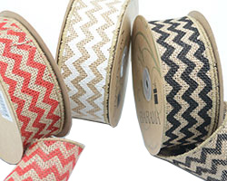 50mm CHEVRON PATTERN JUTE