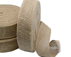 55mm JUTE DOUBLE WEBBING