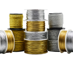 METALLIC CORD - Gold & Silver
