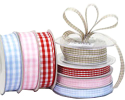 12mm & 22mm WOVEN GINGHAM