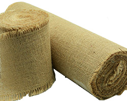 100mm, 300mm 1200mm C/E UNPRINTED JUTE