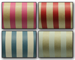 REGULAR STRIPE WRAP - Brown Kraft