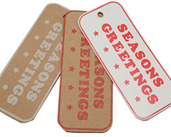 SEASON GREETINGS GIFT TAG