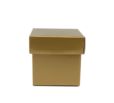 GLOSS BOX & LID-Gold