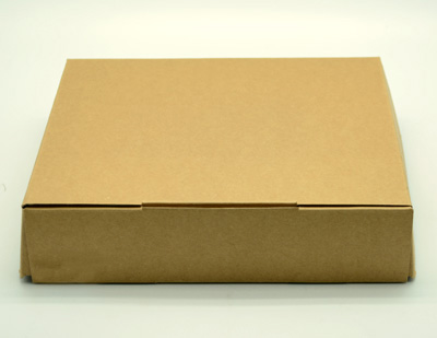 SMALL BOX with FLAP-Natural