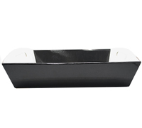 LGE HAMPER TRAY-Gloss Black