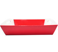 LGE HAMPER TRAY-Gloss Red