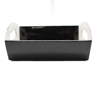SML HAMPER TRAY-Gloss Black