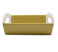 SML HAMPER TRAY-Gold