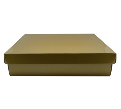 LGE SHIRT BOX & LID-Gold