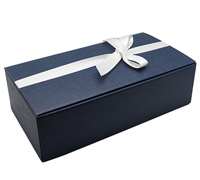 DOUBLE WINE BOX-Seta Navy