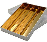 CASEMADE A5-Chocolate Tray-Gold