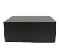 MAGNETIC FLIP-LID SGLE BOX-Matte Black
