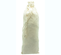 COTTON DRAWSTRING BAG XL-Natural Cotton