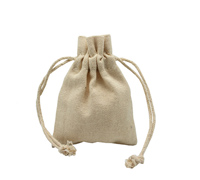 COTTON DRAWSTRING BAG XSML - 8oz Cotton