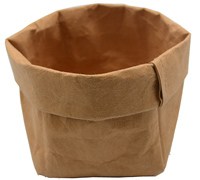 WASHABLE PAPER SACK LGE -Tan