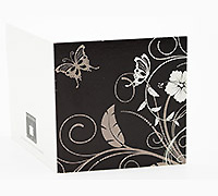 GIFT CARD HIBISCUS FL-Chocolate/Chocolate/White