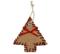 JUTE DECO XMAS TREE-Natural