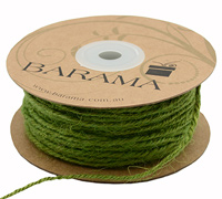 2mm JUTE CORD-Avocado