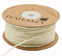 2mm JUTE CORD-Light Natural