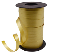 10mm SATIN TEAR RIBBON-Gold