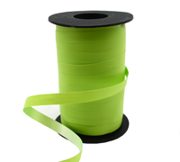 10mm SATIN TEAR RIBBON-Light Green