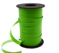 10mm SATIN TEAR RIBBON-Lime