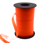 10mm SATIN TEAR RIBBON-Orange