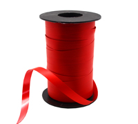 10mm SATIN TEAR RIBBON-Red