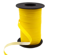 10mm SATIN TEAR RIBBON-Yellow