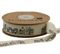 20mm C/TAPE STREETSCAPE-Natural Cotton