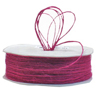 1mm JUTE CORD-Hot Pink