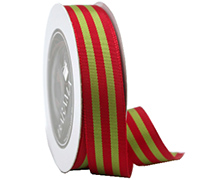 R25mm GG STRIPE-Red/Green