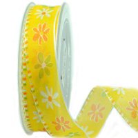 25mm W/E SUNNY FLOWER-Yellow