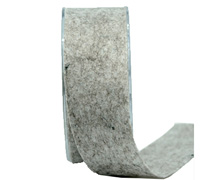 38mm CE FELT RIBBON-Silver