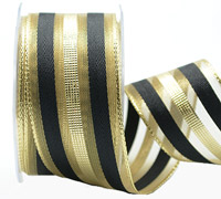 38mm W/E METALLIC BANDS -Gold/Black