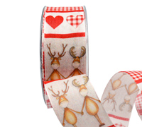 40mm REINDEER BLISS-Red/White
