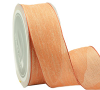 40mm W/E NATURAL WEAVE-Tangerine