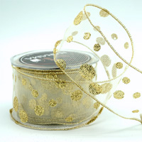 63mm WE GLITTER SPOTS-Gold