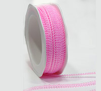 7mm PICOT EDGE TRIM-Pink